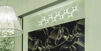 Arandela Mini star com Led
